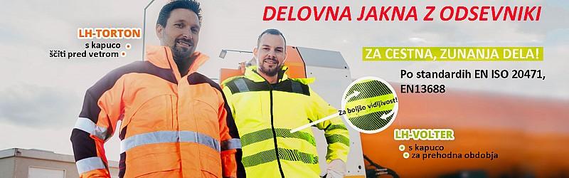 Odsevna delovna oblačila po EN ISO 20471