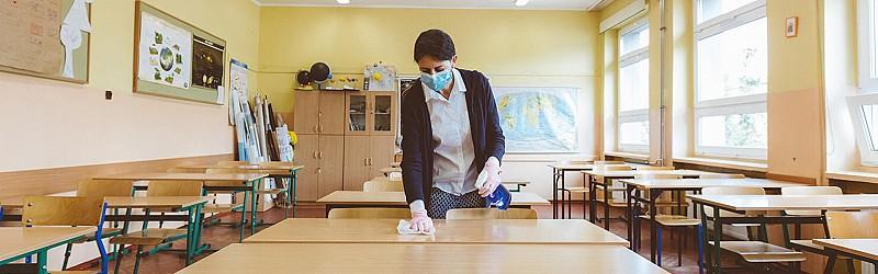 Financiranje zaščitne opreme in dezinfekcije prostorov izvajalcem storitev na področju vzgoje, izobraževanja in znanosti