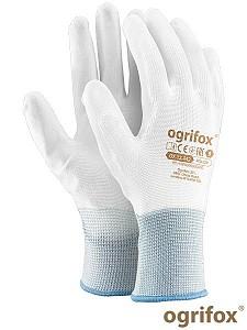 Zaščitne rokavice Najlon bela