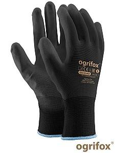 Zaščitne rokavice Najlon črna