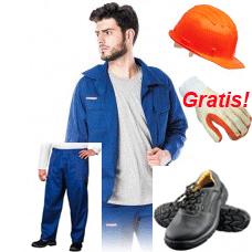 Zaščitni delovni komplet »Go to work« + gratis rokavice Protect