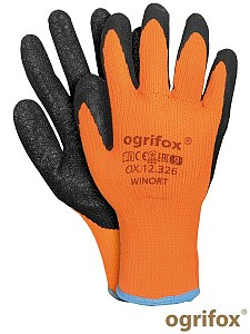 Zaščitne zimske rokvice poliester/lateks Ogrifox