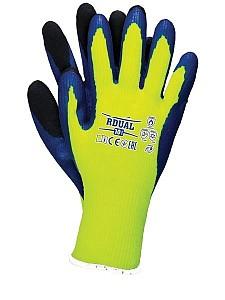 Zaščitne zimske rokavice Dual rumene EN511, EN407