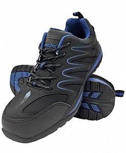 Delovni čevlji Ecuador črne/modre barve OB