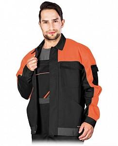 Delovna jakna Promaster črna/oranžna/siva