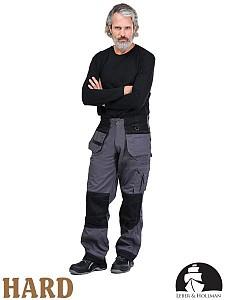 Delovne hlače Monter LH Harver sive&črne