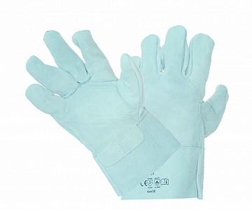 Zaščitne rokavice 5pk goveji cepljenec kratke