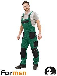 Farmer hlače Formen zelene/črne