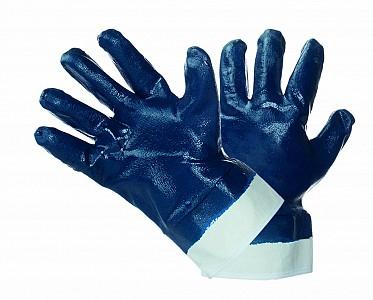 Zaščitne rokavice NBR z manšeto cela zalita