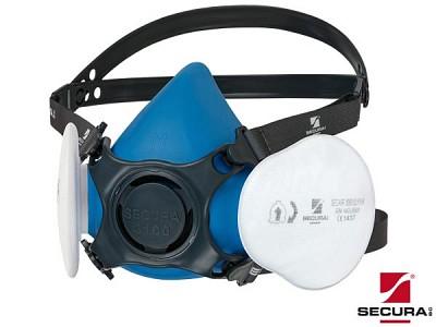 Polmaska s filtri P3 Secura 3100 DUST za zaščito pred prahom