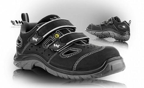 Zaščitna obutev VM Footwear Sandali Lyon S1 ESD SRC