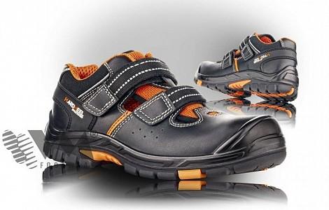 Zaščitna obutev VM Footwear Sandali Oregon S1 HRO SRC