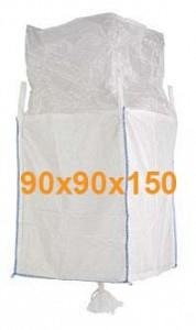 Big Bag Jumbo vreča polnilno krilo in krilo za spust 90x90x150 cm