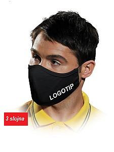 Obrazna maska s tiskom logotipa