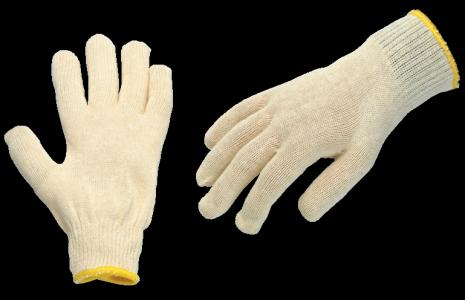 Zaščitne rokavice bombažne pletene