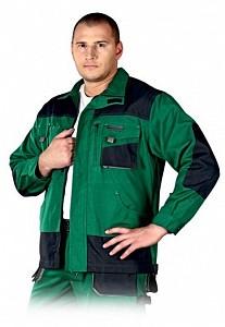 Delovna jakna Formen zelena/črna/siva