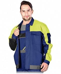Delovna jakna Promaster modra/rumena/siva
