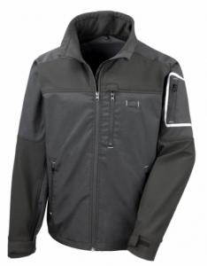 Delovna jakna Work Stretch Result črna