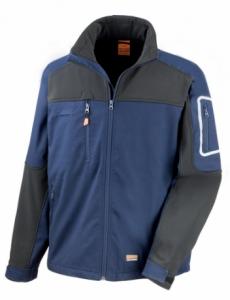Delovna jakna work Stretch Result modra