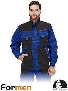 Delovna jakna Formen modra/črna/siva