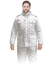 Delovna zimska jakna Master bela