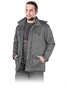 Delovna zimska jakna Master long siva