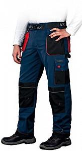 Delovne hlače Formen modre/črne/rdeče