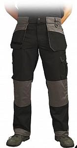 Delovne hlače Monter LH Nilter črne&sive