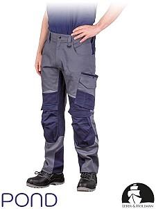 Delovne hlače na pas LH Pond 100% bombaž