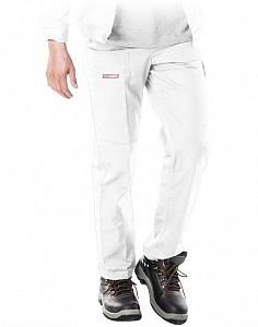 Delovne hlače na pas Master bele