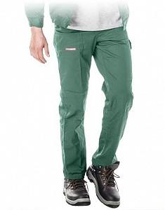 Delovne hlače na pas Master zelene