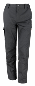 Delovne hlače na pas Stretch Result črne