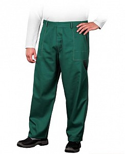 Delovne hlače na pas Work zelene