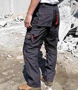 Delovne hlače Work Guard Technical Result sive/črne/rdeče