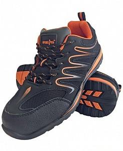 Delovni čevlji Ecuador črne/oranžne barve OB
