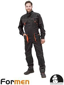 Delovni kombinezon LH sive/črne/oranžne barve