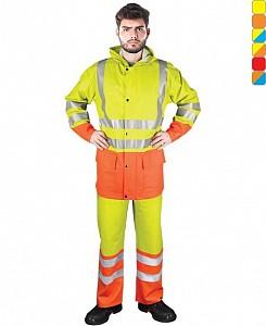 Odsevna dežna obleka FLUO