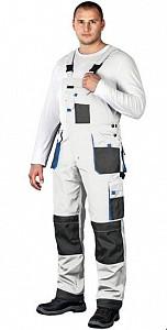 Farmer hlače Formen bele/sive/modre