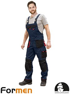 Farmer hlače Formen modre/črne/rdeče