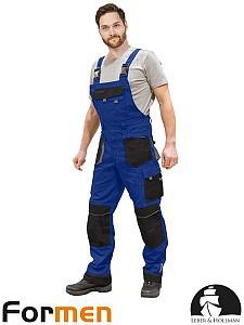 Farmer hlače Formen modre/sive/črne