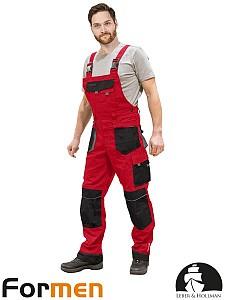 Farmer hlače Formen rdeče/črne