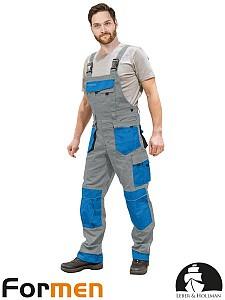 Farmer hlače Formen sive/modre