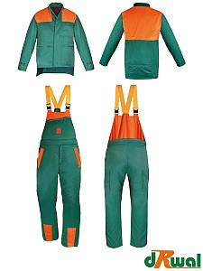 Gozdarska zaščitna obleka komplet jakna in farmer hlače