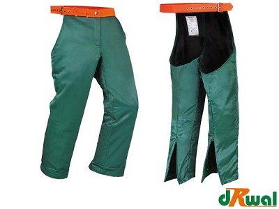 Gozdarske zaščitne hlače