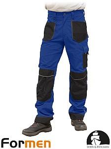 Delovne hlače na pas Formen modre/črne/sive