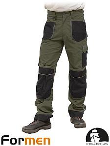 Delovne hlače Formen kaki/sive/črne