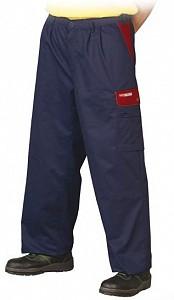 Delovne hlače na pas Forest modre/rdeče