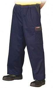 Delovne hlače na pas Forest modre/sive