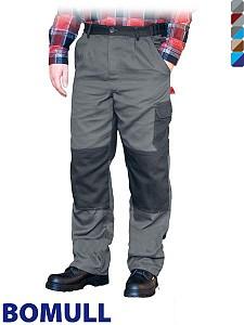 Delovne hlače na pas Bomul 100% bombaž