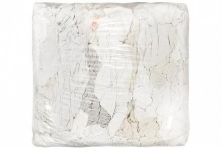 Industrijske čistilne krpe bele/mešane barve bombaž 10 kg